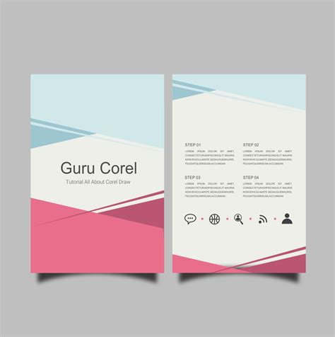 desain undangan pernikahan coreldraw x7 cara membuat brosur sederhana dengan coreldraw x3 x4 x5 x6