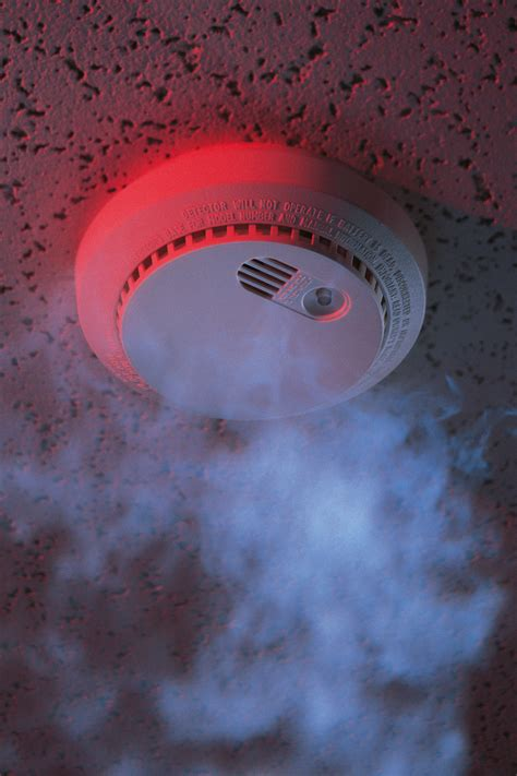 where to install smoke detectors maintaining home security with the help of a smoke