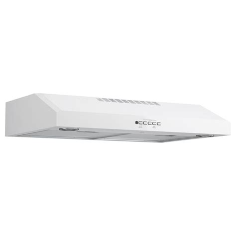 white range hood under cabinet ge 30 quot under the cabinet range hood white ducted range