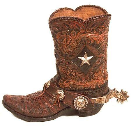 boot spurs 81 best cowboy boot vase images on cowboy boot