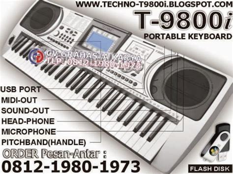 Keyboard Techno T9900 keyboard techno distributor grahasta musik jual keyboard techno termurah grahasta distributor