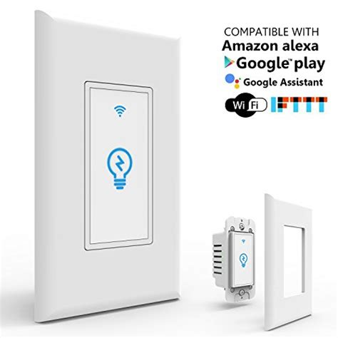 light switches compatible with google home best smart switches switch supports google home