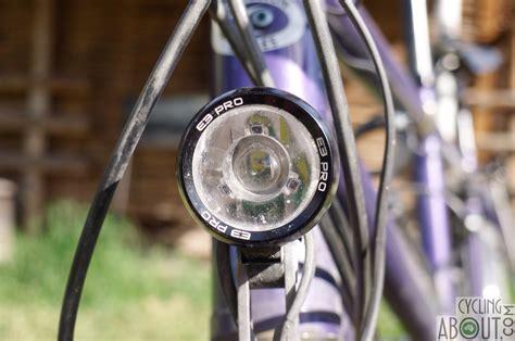 dynamo lights for bikes review review supernova e3 pro dynamo lights cyclingabout