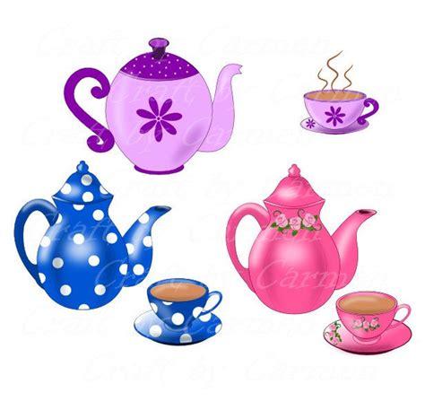 teapot clip art teapot  cup teapot digital clipart