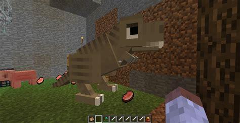 Minecraft Papercraft Dinosaur - papercraft t rex fossils and archeology minecraft