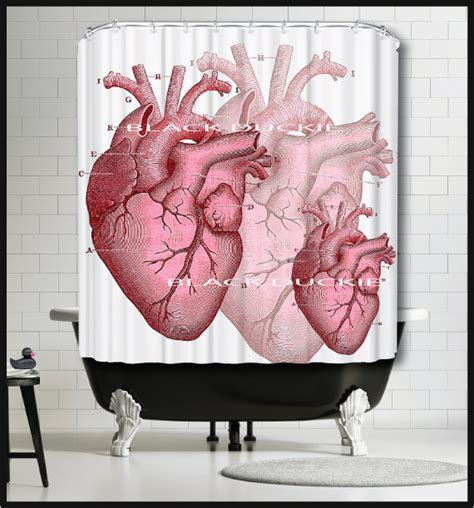human skeleton shower curtain red human heart shower curtain medical science anatomy