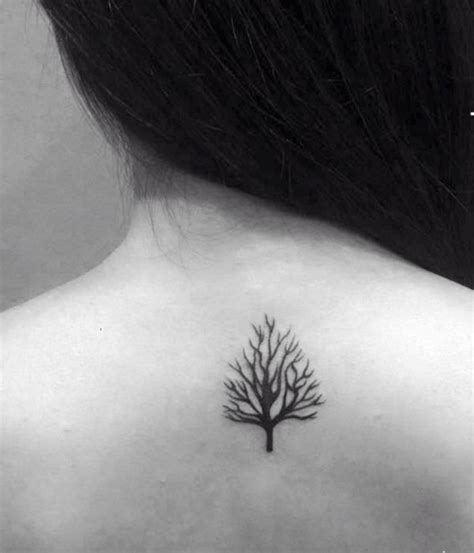 101 small tree tattoo designs that re equally meaningful amp cute