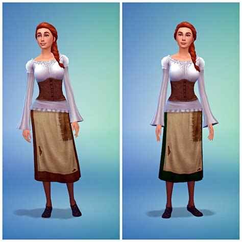 medieval sims 4 my sims 4 blog medieval peasant and knight costumes by