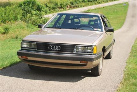 auto air conditioning service 1985 audi 5000s electronic valve timing audi 5000s w automatic transmission very clean classic audi 5000 1985 for sale