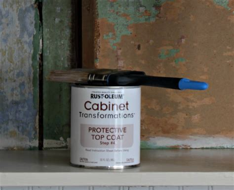 Rustoleum Countertop Protective Top Coat by Rustoleum Cabinet Transformations Protective Top Coat
