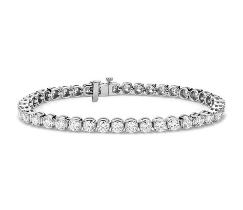 1 Ct Tw Tennis Bracelet by Tennis Bracelet In 14k White Gold 8 Ct Tw