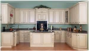 kitchen idea blue walls cabinets florida condo
