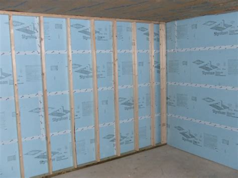 Foam Board Insulation Basement Walls Pictures To Pin Pin Insulating Basement Walls How To Insulate On Pinterest