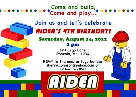 printable lego invitation cards free printable lego city birthday invitations lego