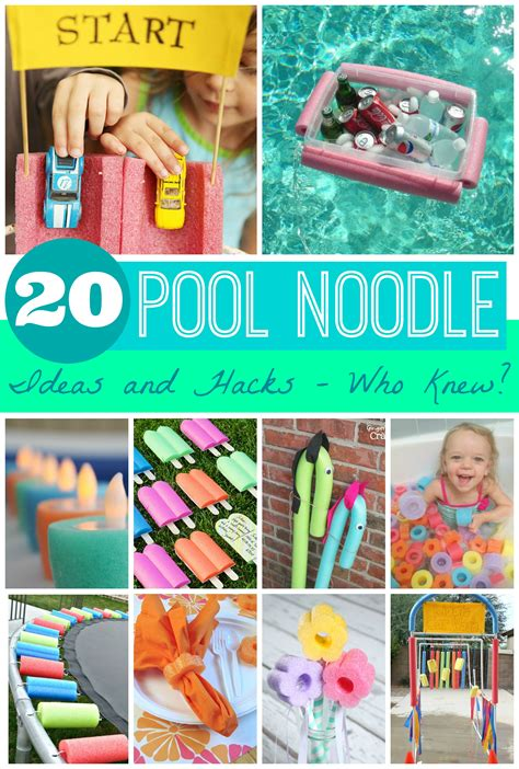idea hacks 20 pool noodle ideas and hacks who knew