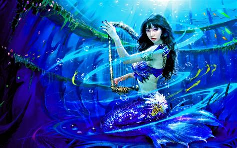 hd themes girl real life mermaid girls photography with photoshop