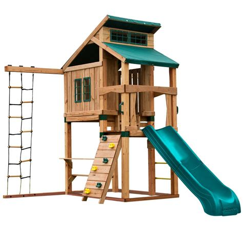 swing n slide playset swing n slide playsets hideaway clubhouse playset with