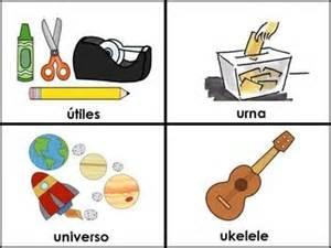 color con u palabras con la letra u material para maestros