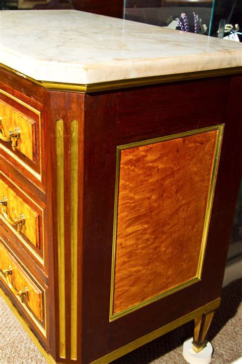 a russian neoclassical commode or nightstand or
