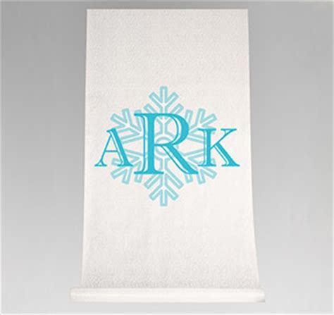 Wedding Aisle Runner Monogram by Wedding Aisle Runners Personalized Aisle Runners