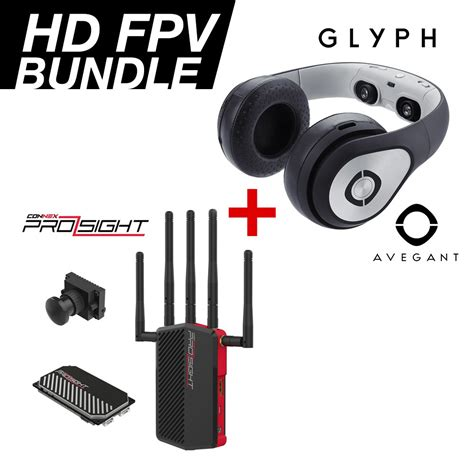 hd fpv hd fpv bundle connex prosight hd and avegant glyph hd
