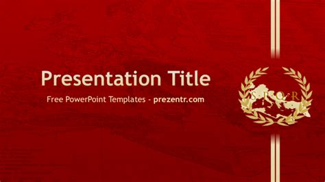 ancient powerpoint template free empire powerpoint template prezentr