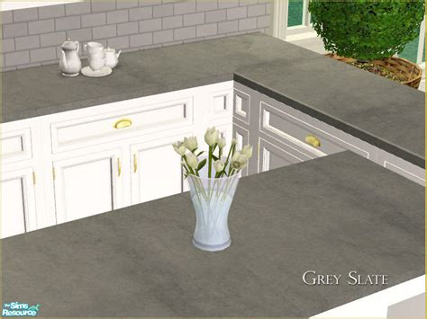 Slate Grey Countertops Phoenix Phaerie S Mh Kitchen Countertop Recolor Grey Slate