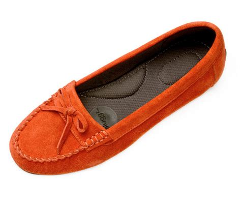 grounding shoes pluggz juno driving moc persimmon