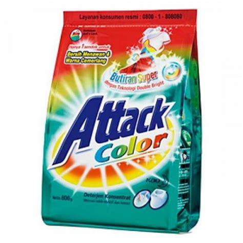 Atack Softener 800gr attack color care detergent 800gr