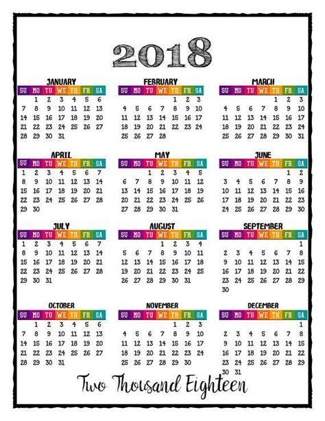 color calendar 2018 printable caribbean color calendar with bonus 2017