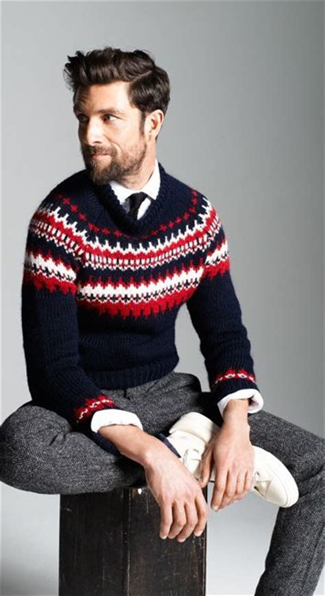 menswear monday holiday sweaters