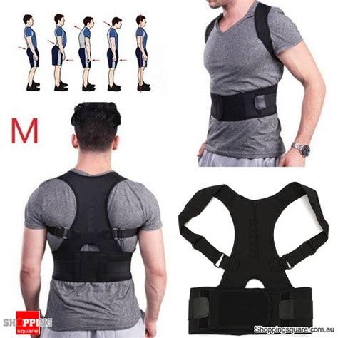 Back Support Belt Size M adjustable magnetic posture corrector belt for lumbar