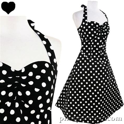 black and white polka dot swing dress 301 moved permanently