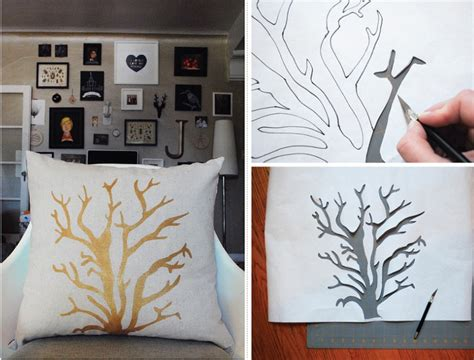 Pillow Ideas For by Top 10 Diy Ideas For Stenciled Pillows