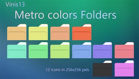 metro colors metro colors folders by vinis13 on deviantart