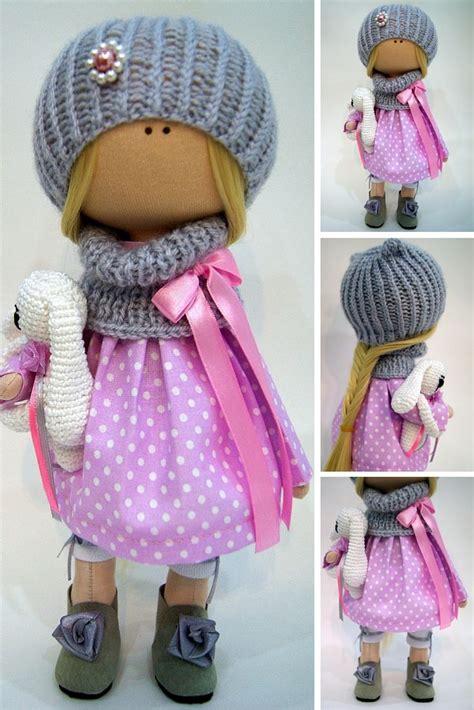 doll handmade tilda doll handmade doll fabric doll textile doll interior