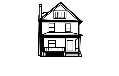 drawing of house house line drawing free stock photo public domain pictures