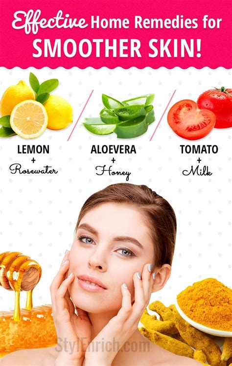 how to get smooth skin with top 5 most effective home
