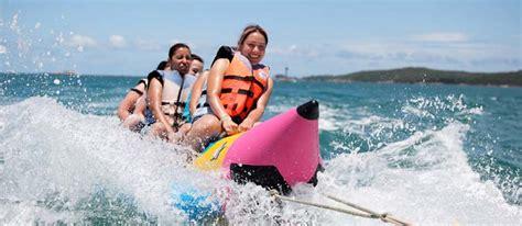 banana boat ride bali banana boat rides bali at tanjung benoa beach by aditya