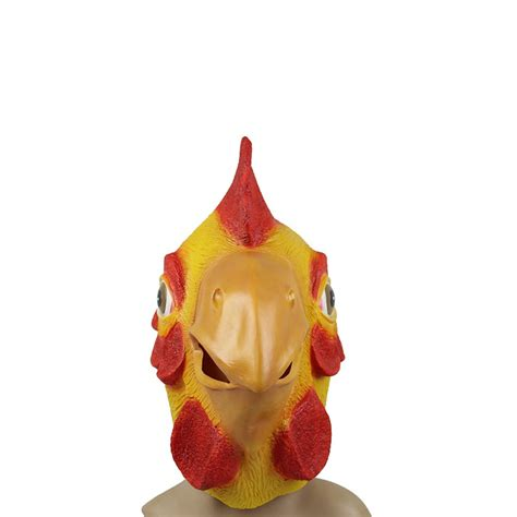 new year rooster mask chicken rooster hen animal costume