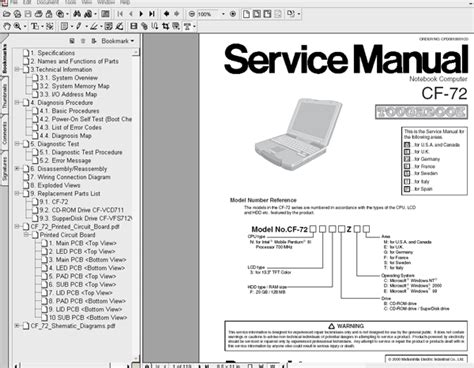 Nb 039 Notebook Just For You panasonic notebook cf 1000 service manual introductory