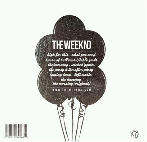 the weeknd house of balloons album pin by lexi on xo gang pinterest