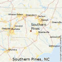 best places to live in southern pines carolina