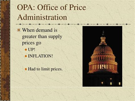 What Did The Office Of Price Administration Opa Do ppt wwii americans at war powerpoint presentation id