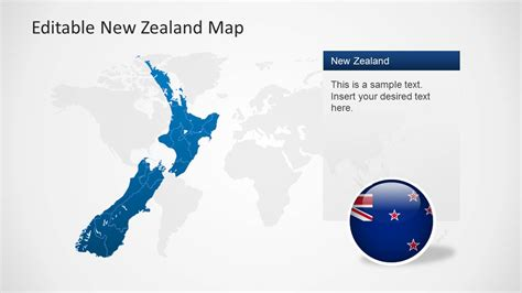editable new zealand map powerpoint template slidemodel