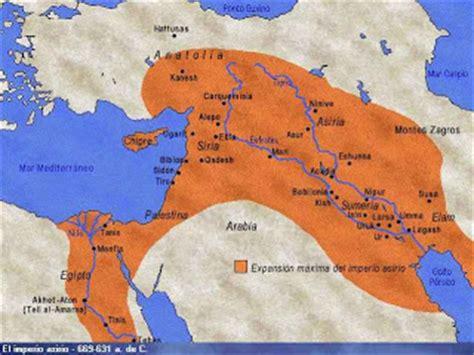 los asirios historia imperio historia universal