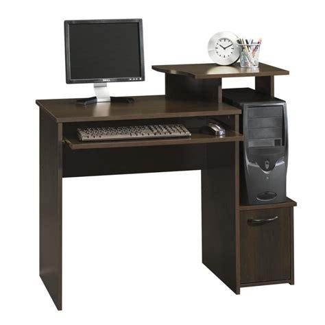 Sauder Laptop Desk by Shop Sauder Beginnings Cinnamon Cherry Computer Desk At