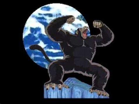 imagenes de goku mono dbz goku convertido en mono gigante youtube