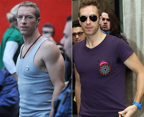 Kaos Chris Martin pisah dari gwyneth paltrow badan chris martin malah makin