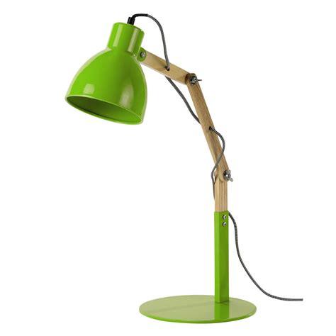 Le De Bureau En Bois Et M 233 Tal Vert H 57 Cm Market Le De Bureau Verte